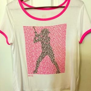 Girls Justice Softball tee Sz 20